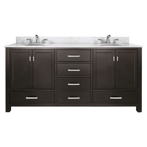 kitchen sink faucets lowes shop avanity modero espresso undermount sink poplar