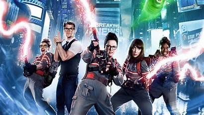 Animated Ghostbusters Comedy Movies Desktop Wallpapers