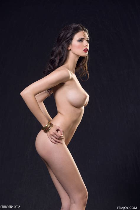 Jasmine A Strip Teases Nude In Her Indian Saree
