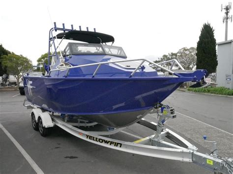 Quintrex Yellowfin Boats by Boat Listing Quintrex 5800 Yellowfin Cabin Boat