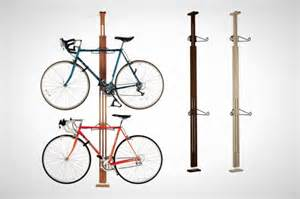 Ceiling Bike Rack Diy by 15 Creative Ways To Hang Up Your Bike Brit Co