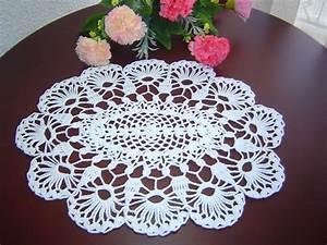 Como Tejer Carpeta o Centro de Mesa a crochet paso a paso ...