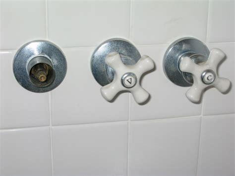 remove stuck valve stem  shower faucet