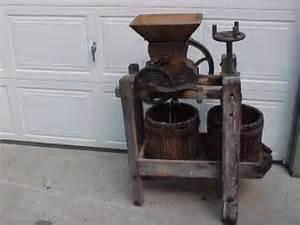 send a fruit basket apple cider press grape wine juice fruit crusher wood