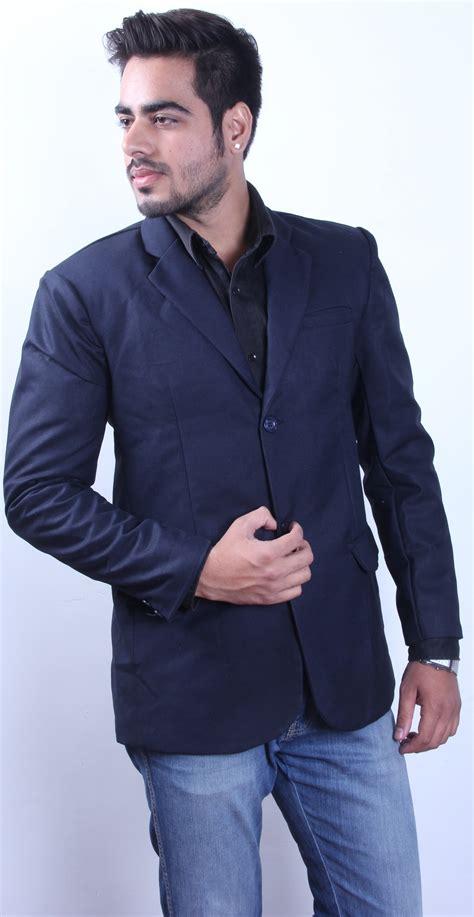 Buy Intrend Supreme Superior Quality Blue Men Blazer ...