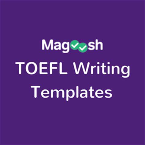 toefl independent writing template pdf toefl writing template