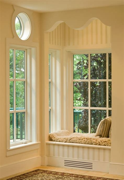 Bay Window Seat With Flush Mount Sconce Kitchen Hardware