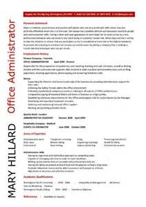 resume for administrative officer position office administrator resume sle best resume exle