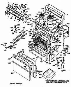Ge Model Jbp22 F2 Ranges  Electric Genuine Parts