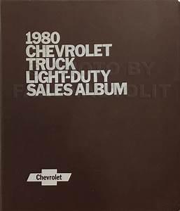 1980 Chevy Luv Series 10 Repair Shop Manual Original