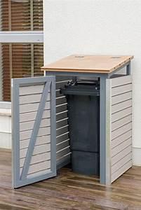 Müllbox Selber Bauen : m lltonnenbox selber bauen endzustand mit offener t r ~ Lizthompson.info Haus und Dekorationen