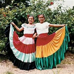 Traditional Costa Rican Dress