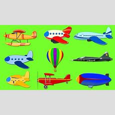 Air Vehicles  Street Vehicles  Air Planes  Transport For Kids Youtube