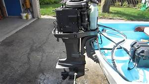 Mariner 40hp Outboard 1996 Elpto