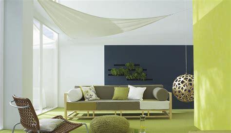 Wohnzimmer Wandgestaltung GrÜnblau Kolorat