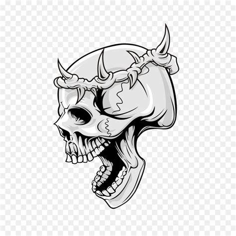 skull png    transparent art png