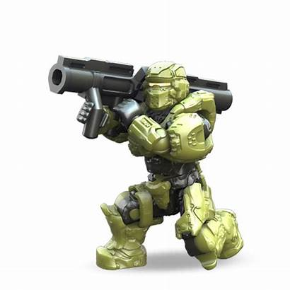 Unsc Spartan Warrior Taurus Fireteam Halo Mega