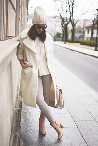 Beige Grau Kombinieren : hellbeige mantel hellbeige strickpullover graue enge jeans beige leder stiefeletten f r damen ~ Markanthonyermac.com Haus und Dekorationen