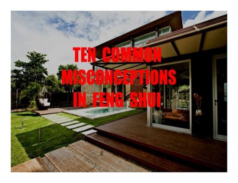 10 Common Misconceptions In Feng Shui