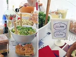Idée Recette Anniversaire : une f te th me usa buffet et recettes sous notre toit ~ Melissatoandfro.com Idées de Décoration
