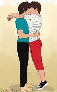 Larry Stylinson Fan Art: Harry Styles, Louis Tomlinson Fan ...