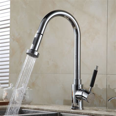 Mounted Kitchen Faucet With Sprayer by Single Handle Deck Mounted Kitchen Sink Faucet With