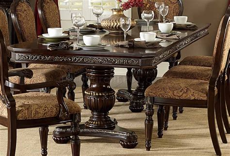 russian hill dining table  homelegance
