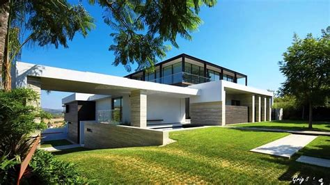 Modern Houses : Stunning Modern Rectangular Houses, Splendid Architecture