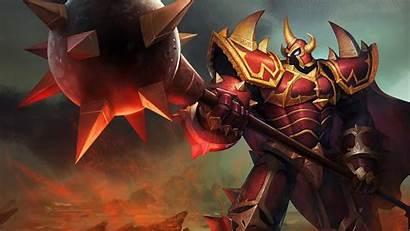 Mordekaiser Dragon Knight Legends Splash Lol 4k