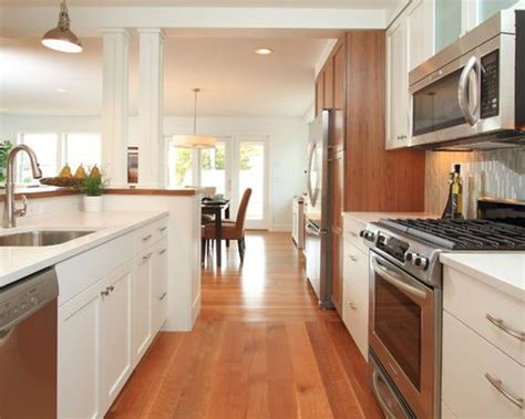 turning a galley kitchen into an open kitchen opening up a galley kitchen ideas pictures remodel and decor 9901