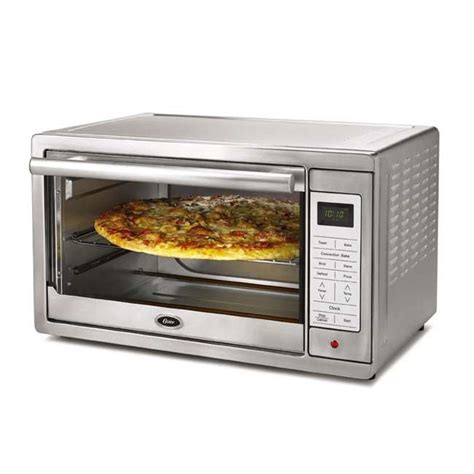 Oster Stainless Steel Convection Countertop Oven by Oster Tssttvxldg Large Digital Convection Toaster