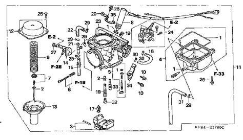 Honda Rancher Carburetor Diagram Car Interior Design