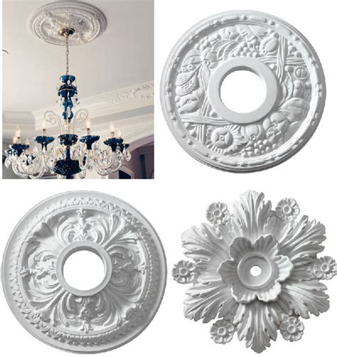Small Two Ceiling Medallions by Add A Something To Your Ceiling The Decorologist