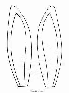bunny ears headband template - 23 images of donkey headband template