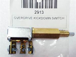 1948-56 Ford F-100 Overdrive Kickdown Switch