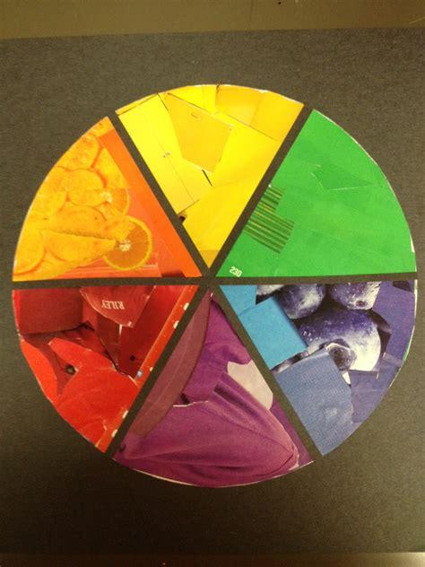 PCSST Art Studio!: Color Wheel - Collage