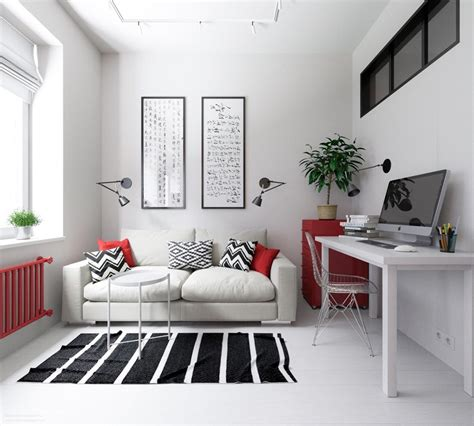 3 Small Apartments That Rock Uncommon Color Schemes [with