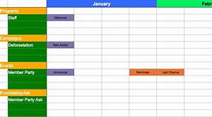 a template for calendaring your messaging aspiration With campaign schedule template