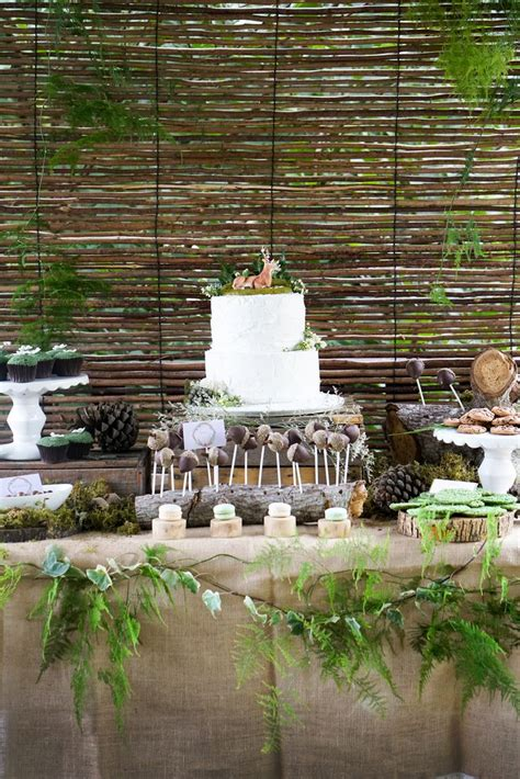 enchanted forest party ideas  pinterest