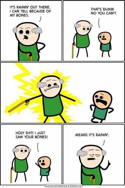 Explosm Comics Cyanide Happiness Rob