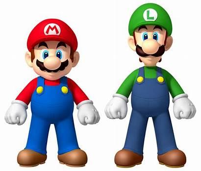 Luigi Mario Bros Characters Cartoon Popular Most