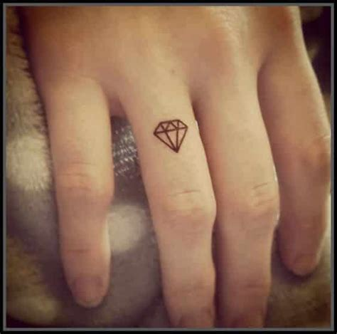diamant finger tattoos for ideas and inspiration for guys