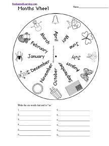 calendar  seasons  printouts  homeschooling
