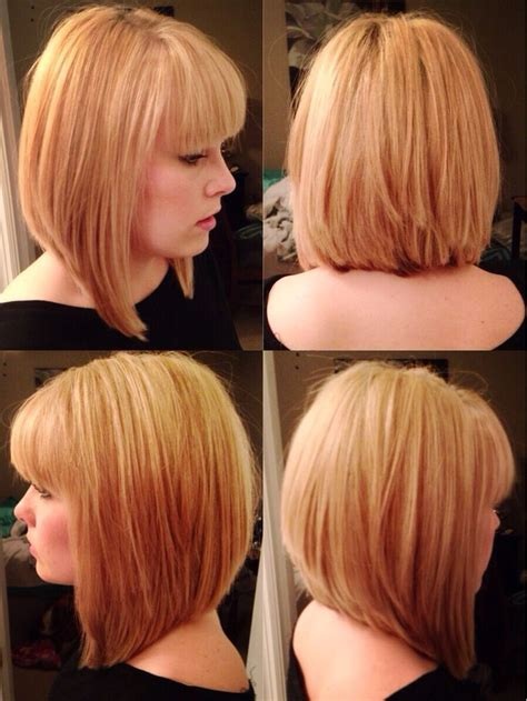 25 Best Ideas About Layered Bob Bangs On Pinterest
