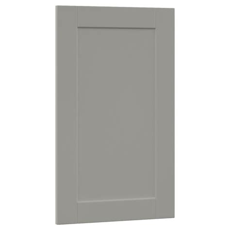 kitchen cabinet decorative panels hton bay 0 625x29 375x18 in shaker wall cabinet 5224
