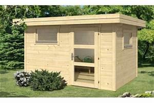 Abri De Jardin Toit Plat 10m2 : abri de jardin en bois 15m2 pas cher cabanes abri jardin ~ Nature-et-papiers.com Idées de Décoration
