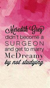 Meredith Grey didn't become a surgeon and get to marry ...