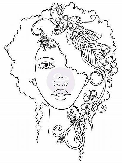 Gina Wilson Coloring Stamps Algebra Bloom Afro