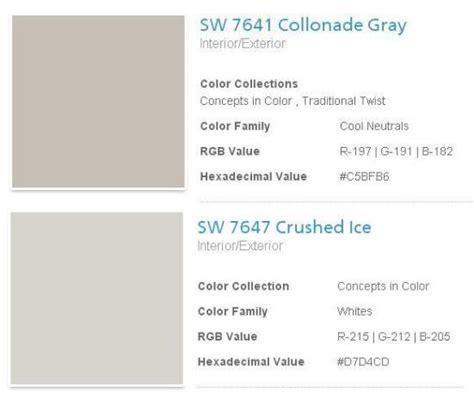 sherwin williams collonade gray search on the