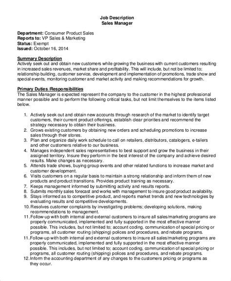 Job Ysis   Job Ysis Of Sales Manager Pay Someone To Write My Resume Resume